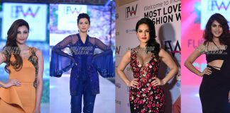 IBFW 2017 Photos – Sunny Leone, Rhea Chakraborthy, Gauhar Khan Turn Showstoppers!