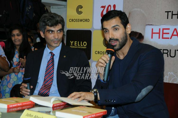 The Heart Truth book launch with John Abraham
