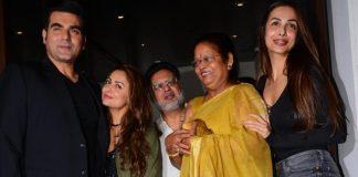 Arbaaz Khan Joins Malaika Arora's Mother's Birthday Celebrations – Photos