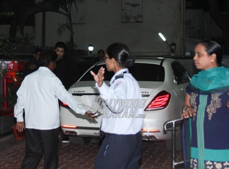 Karan Johar visits twins Roohi and Yash at hospital