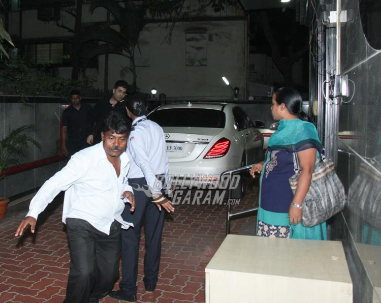 Karan Johar visits twins Roohi and Yash at hospital