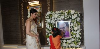 Aishwarya Rai Bachchan's father's thirteenth day prayer meeting held today – Photos