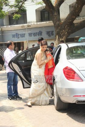 Aishwarya Rai Bachchan's father's thirteenth day prayer meeting