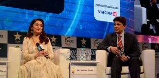 Photos – Madhuri Dixit and Dr. Sriram Nene at FICCI Frames 2017