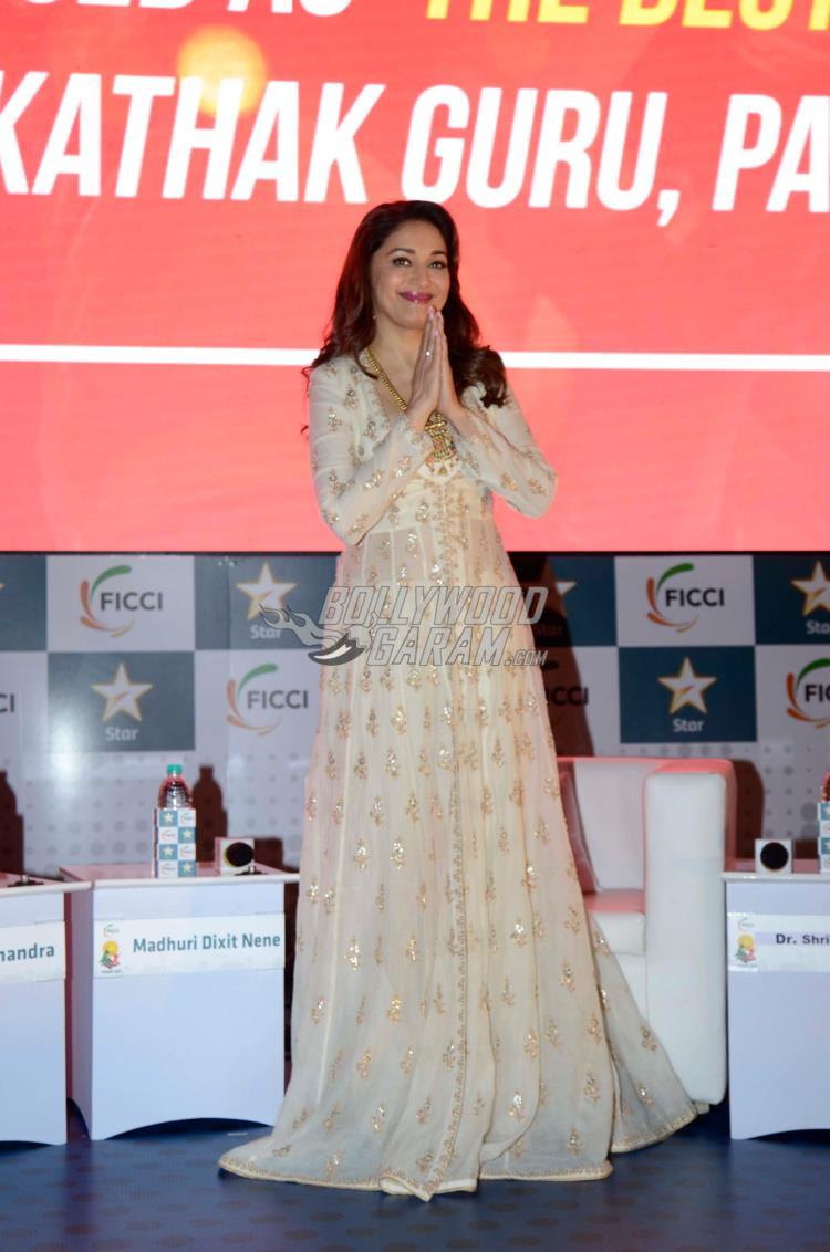 Madhuri Dixit at FICCI Frames 2017