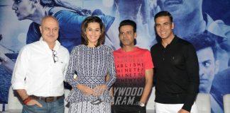 Akshay Kumar, Taapsee Pannu and Anupam Kher Promote Naam Shabana in Delhi