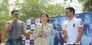 Akshay Kumar, Taapsee Pannu, Manoj Bajpayee promote Naam Shabana in Delhi College – Photos