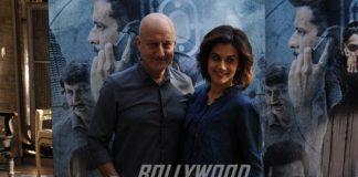 Taapsee Pannu Promotes Naam Shabana With Anupam Kher