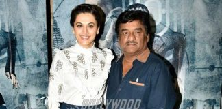 Taapsee Pannu Promotes Naam Shabana with Director Shivam Nair – Photos