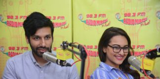 Stand-up Comedian Kanan Gill and Sonakshi Sinha Promote Noor on Radio Marchi – Photos