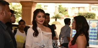 Anushka Sharma, Diljit Dosanjh Promote Phillauri at JW Marriot – Live Feed Photos
