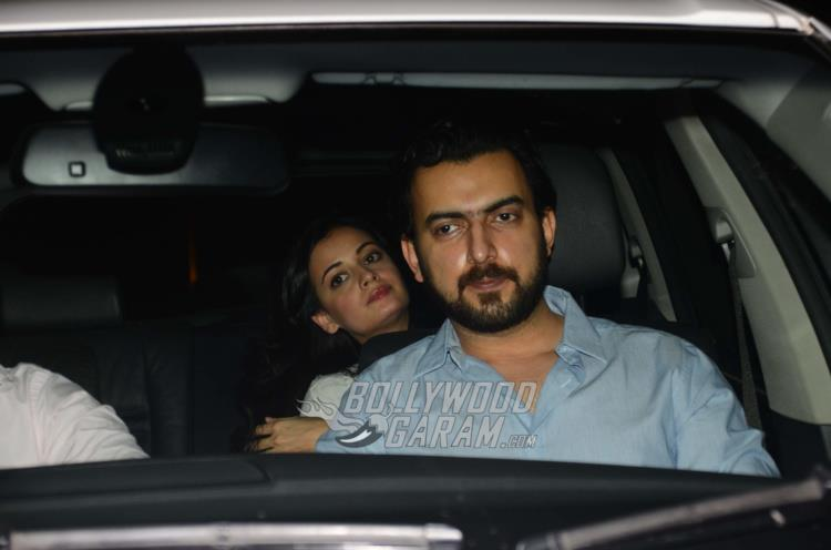 Dia Mirza at Phillauri special screening