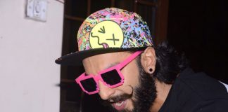 Ranveer Singh sets new fashion standards with his neon pink cap and glasses! Photos
