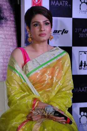 Raveena-Tandon-Maatr-Official-trailer-Launch-14