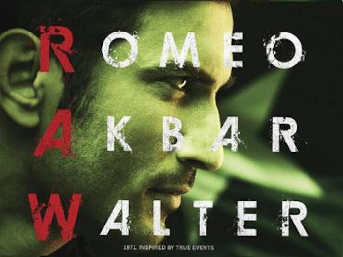 Romeo Akbar Walter official movie poster