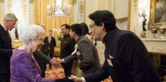 Shiamak Davar and Musician Dr. L Subramaniam Greeted by The Queen in London! Photos