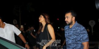 Shilpa Shetty and Raj Kundra Snapped on a Cozy Dinner Date