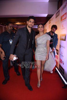 Sidharth Malhotra and Alia Bhatt at HT Most Stylish Awards 2017