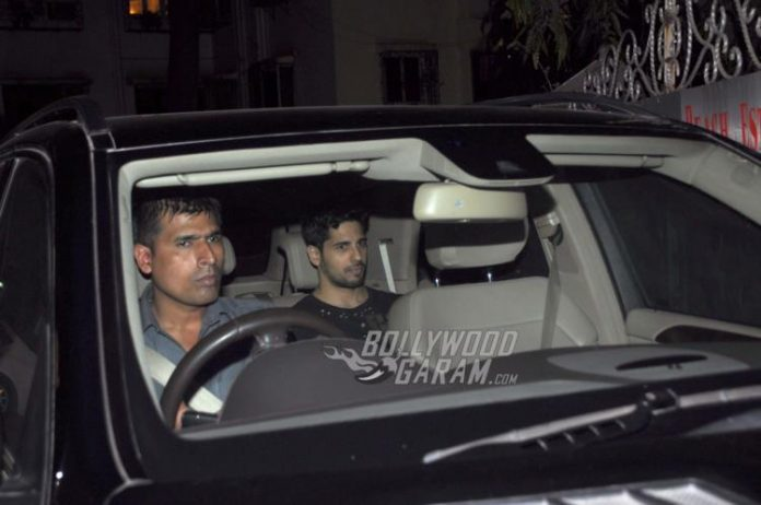 Sidharth at alia bday1