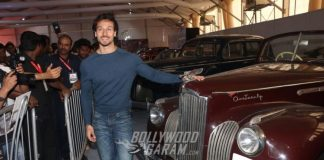 Tiger Shroff Graces International Motor Show 2017, Talks Ram Gopal Varma Tweet
