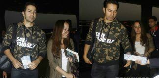 Varun Dhawan Spotted With Girlfriend Natasha Dalal at Mumbai Airport – Photos!