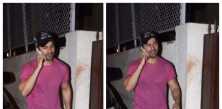 Photos – Varun Dhawan Spotted At Girlfriend Natasha Dalal's Residence