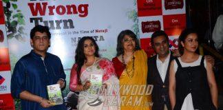 Actress Vidya Balan Launches 'The Wrong Turn' Book – Photos