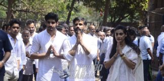 Amitabh Bachchan, Sooraj Pancholi and others Attend Suniel Shetty's Father's Funeral