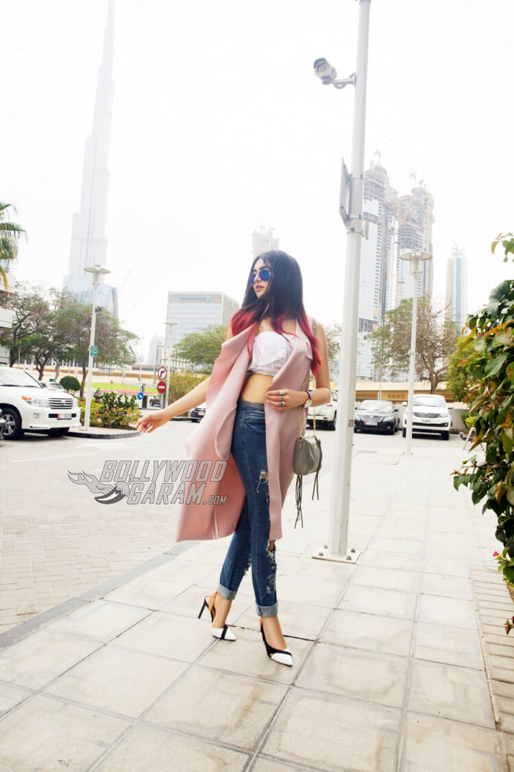 Adah Sharma in Dubai