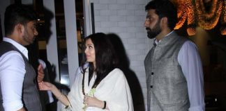 Amitabh Bachchan, Abhishek Bachchan and Aishwarya Rai snapped at Krishnaraj Rai's 13th day dinner