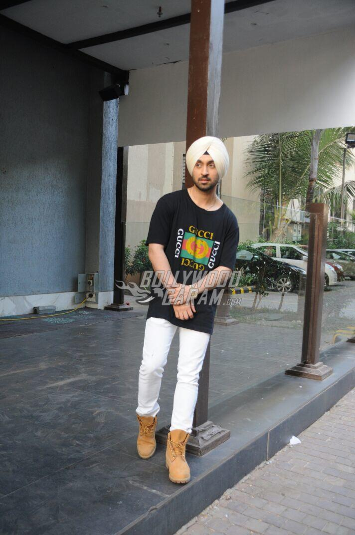 Diljit Dosanjh snapped promoting Phillauri