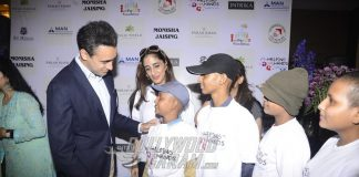Star-studded attendence at the Helping Hands charity event