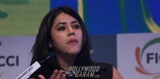 Jacqueline Fernandez, Ekta Kapoor Grace FICCI Frames 2017