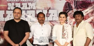 Taapsee Pannu and Shivam Nair host Naam Shabana press meet in Hyderabad