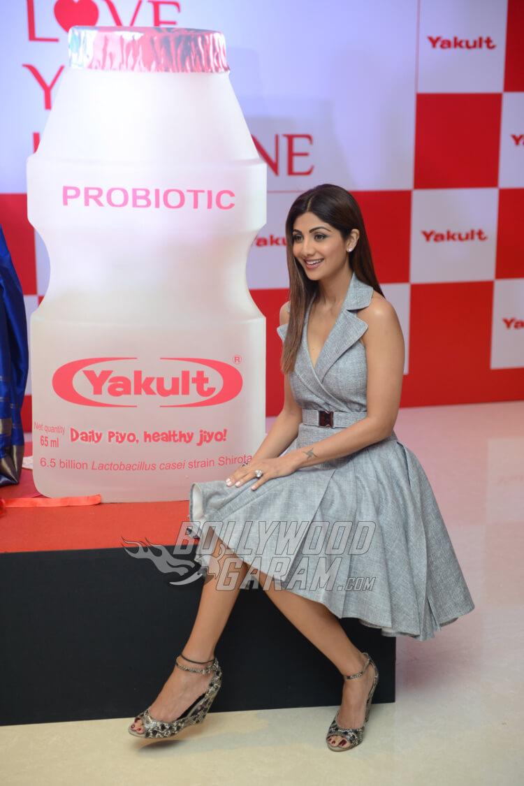 Shilpa Shetty Yakult