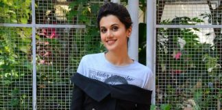 Stylish Taapsee Pannu spreads her charm at a promotional event