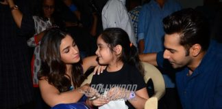 Varun Dhawan and Alia Bhatt Spend Some Quality Time With Young Fans – Photos