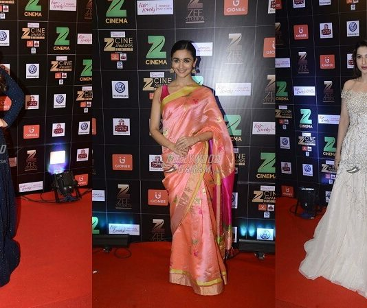 Bollywood Celebrities Glam Up the Zee Cine Awards 2017 Red Carpet – Photos!