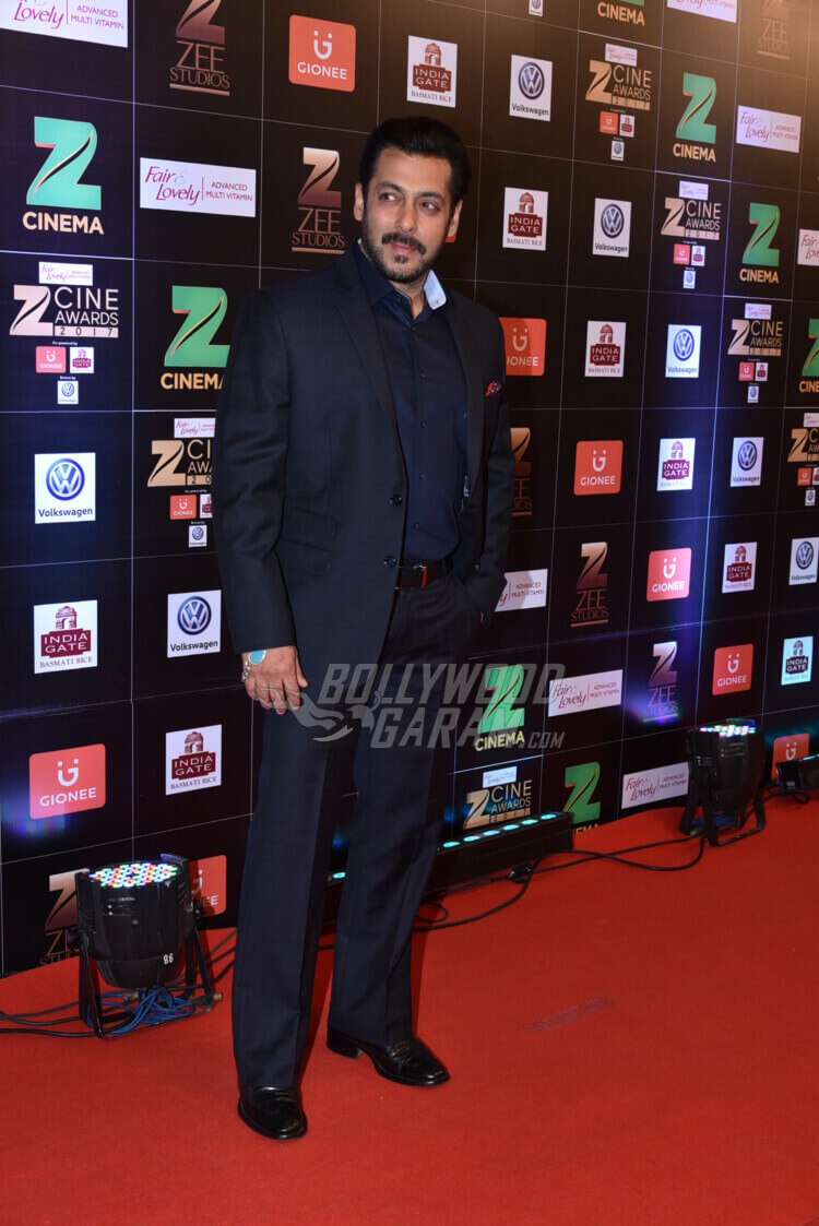 Zee Cine Awards 2017 red carpet Salman Khan