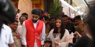 Photos – Abhishek Bachchan, Aishwarya Rai visit Siddhivinayak Temple on 10th wedding anniversary
