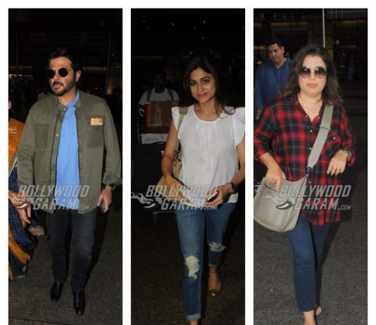 Airport diary – Bollywood celebrities sport stunning airport fashion!