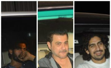 Bollywood celebrities catch Baahubali 2 movie screening – Photos