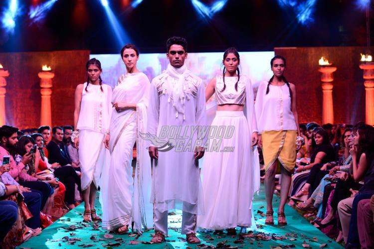 Bollywoo x Baahubali fashion show