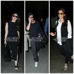 Kareena Kapoor, Shahrukh Khan, Juhi Chawla nail their airport look – Photos