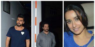 Anil Kapoor, Arjun Kapoor, Shraddha Kapoor spotted – Photos