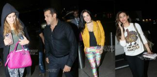 Salman Khan leaves for Dabangg Tour with Bipasha Basu, Sonakshi Sinha and other celebrities!
