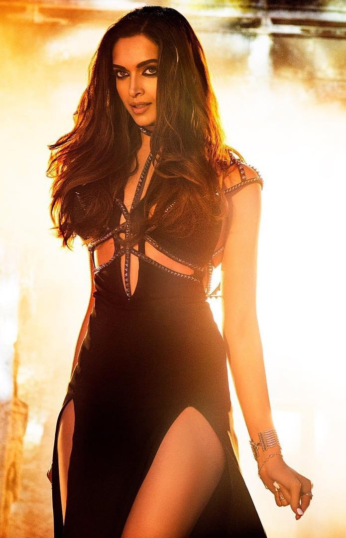 Deepika padukone looks sizzling in black in raabta title track for 1234 get on the dance floor star cast