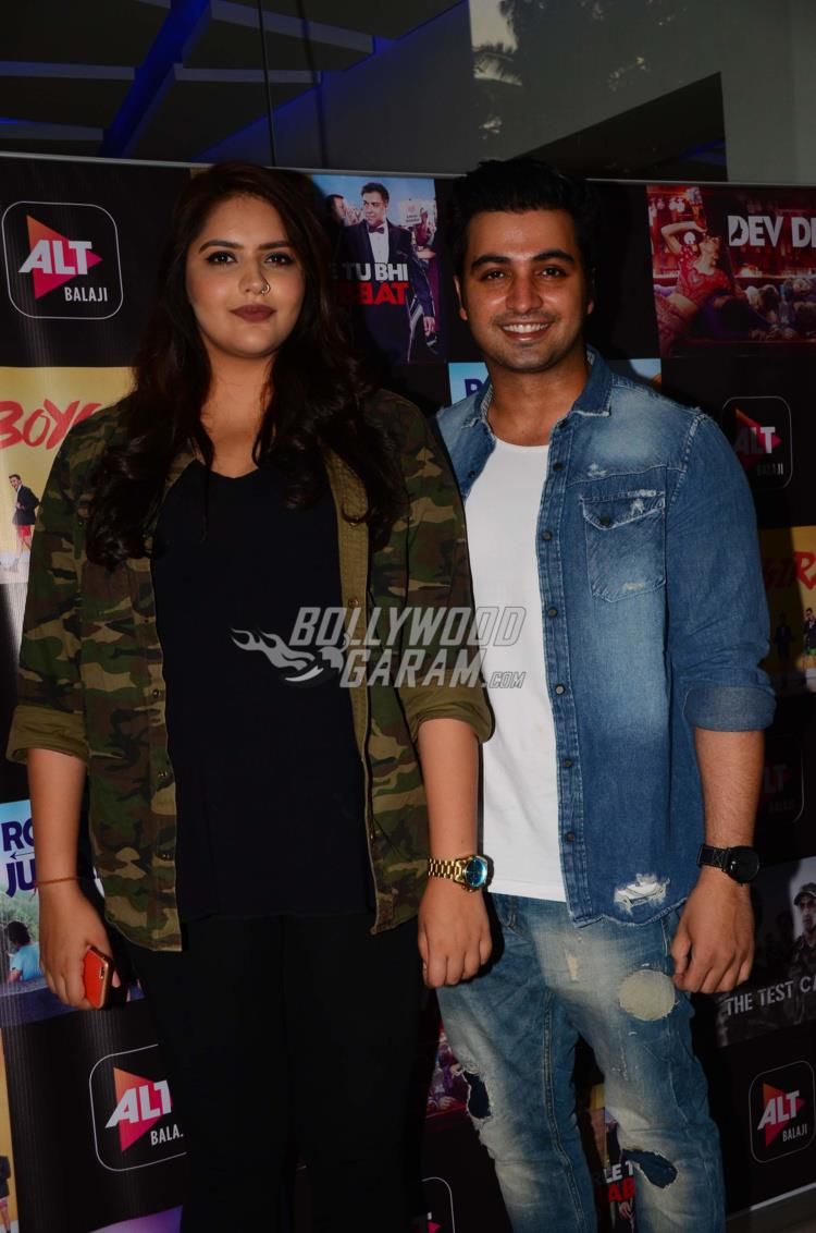 Indian television stars arrive for the premiere of Dev DD