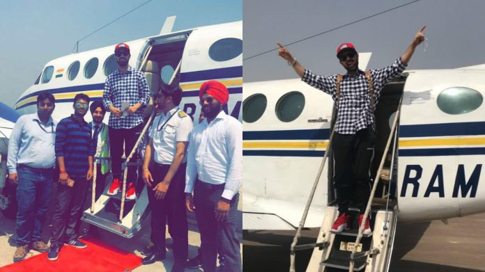 Diljit-Dosanjh-private-plane