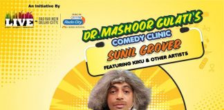 Sunil Grover's show Dr. Mashoor Gulati's Comedy Clinic gets great response in Delhi!